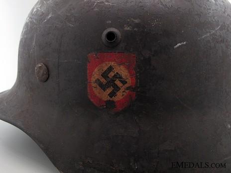 SS-VT Helmet M35 Detail