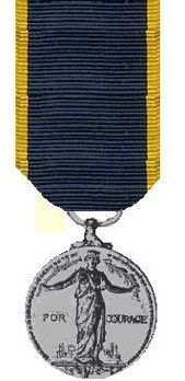 I Class Medal (1937-1949) Reverse