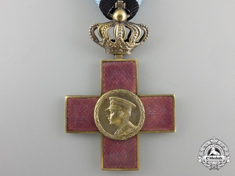 Order of Cultural Merit, Type I, I Class Knight's Cross with crown Obverse
