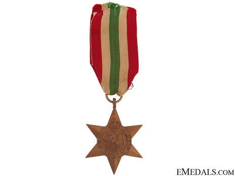 Italy Star Obverse
