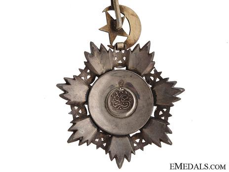 Order of Medjidjie, Civil Division, I Class Reverse