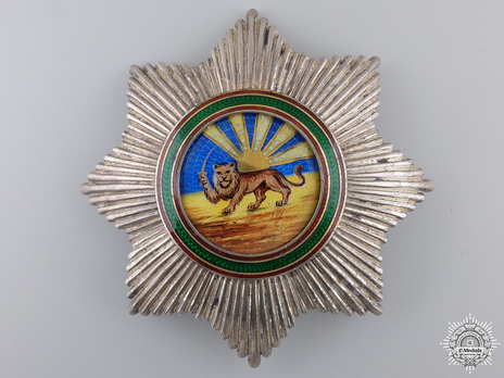 Order of Homayoun, I Class Breast Star Obverse