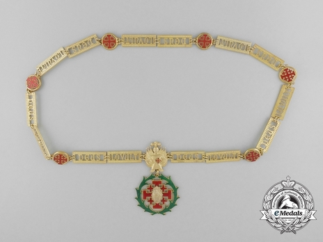 Equestrian Order of Merit of the Holy Sepulcher of Jerusalem (Type II) Collar Obverse