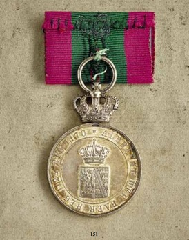 Order of Albert the Bear, Silver Medal of Merit (with crown)