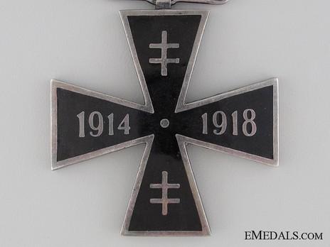 WWI Cross (1914-1918), IV Class Obverse Detail