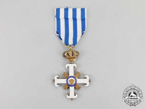 Order of San Marino, Type II, Knight Reverse