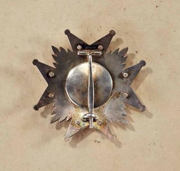 Order of Ludwig, Commander Breast Star