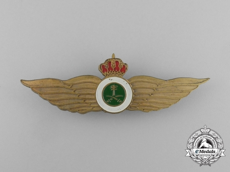 Pilot's Wings (with bronze gilt) Obverse