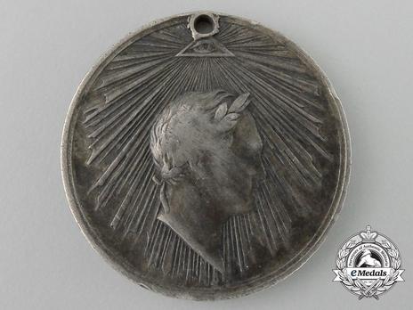 Taking of Paris Silver Medal Medal Obverse