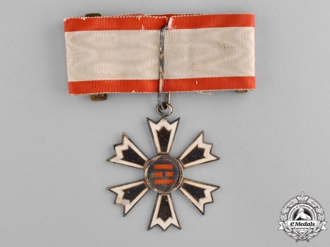 Order of the Eight Trigrams, III Class Neck Badge Obverse