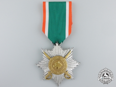 II Class Star (for combat service, with swords) Obverse