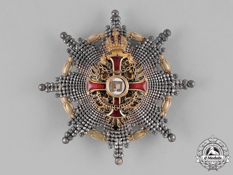 Type II, Military Division, Commander Breast Star Obverse