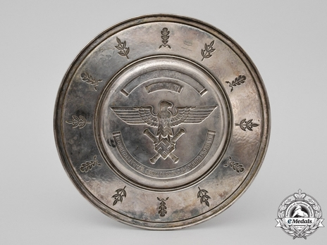 Luftwaffe Honour Salver Reverse
