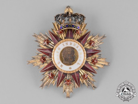 Grand Cross Breast Star (1893-1910) Obverse