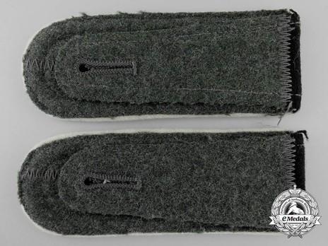 Waffen-SS Infantry Scharführer Shoulder Boards Reverse