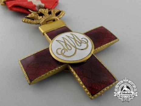 1st Class Cross (red distinction) (gilt) Reverse