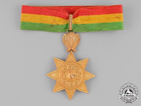Order of the Star of Ethiopia, Grand Officer Obverse