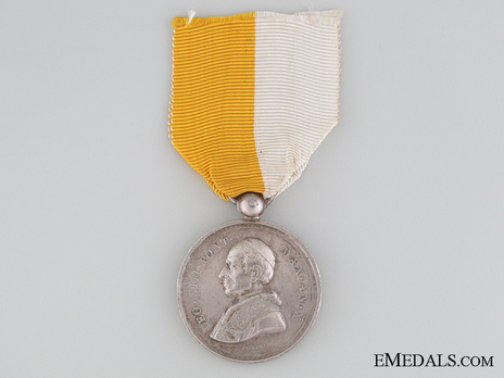 Commemorative Medal in Silver Obverse
