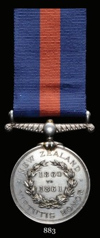New Zealand Medal (1860-1861)
