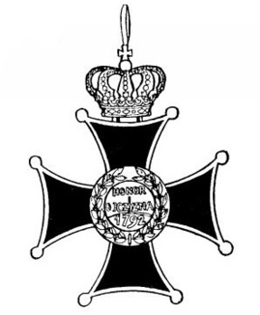Order of Virtuti Militari, Type II, Grand Cross Reverse