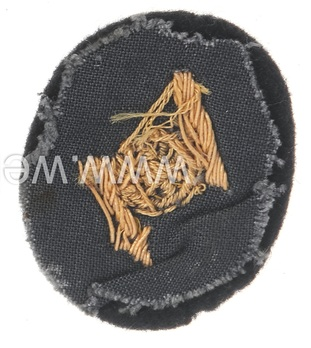 Kriegsmarine Officer's Technical Communications Insignia Reverse