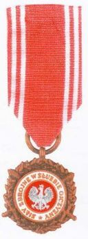 Medal of the Armed Forces in Service of the Fatherland, III Class Obverse