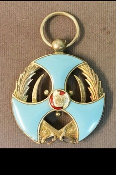 Order of Merit (Nishan-i-Liaqat), Type II, II Class Reverse