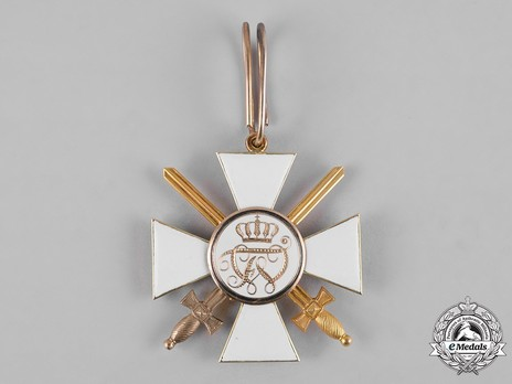 Order of the Red Eagle, Type IV, Military Division, II Class Cross (with swords) Reverse