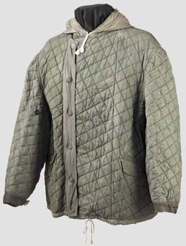 German Army Winter Jacket Grey Side Obverse
