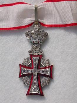 Order of Dannebrog, II Class Commander (Christian IX)