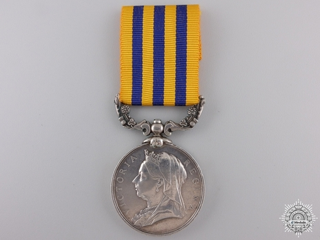 Silver Medal (for Rhodesia 1896) Obverse