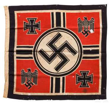 German Army Flag of the Reich Minister of War and Commander-in-Chief of the Armed Forces (2nd version) Obverse