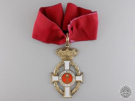 Royal Order of George I, Civil Division, Commander Obverse