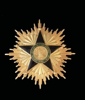 National Order of Merit, Grand Cross Breast Star