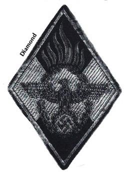 HJ Leader Fire Defense Badge Obverse