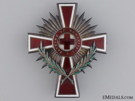 Honour Decoration of the Red Cross, Civil Division, Officer's Cross