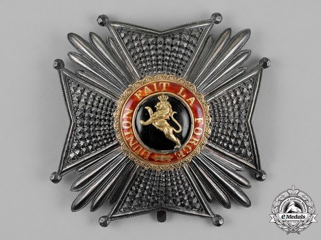 Grand Officer Breast Star (Civil Division, 1832-1951) Obverse