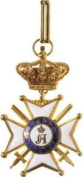 Order of Civil and Military Merit of Adolph, Grand Cross, in Gold (Military Division)