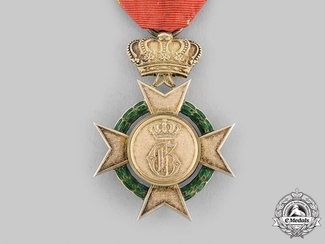 Order of Arts and Sciences, I Class Cross (in silver) Reverse
