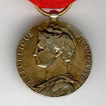 """Gilt Medal (stamped """"A BORREL,"""" 1948-1974) Obverse"""