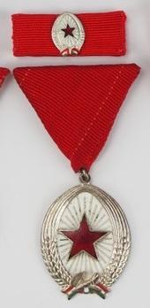 Order of Labour, Silver Medal (1964-1991) Obverse
