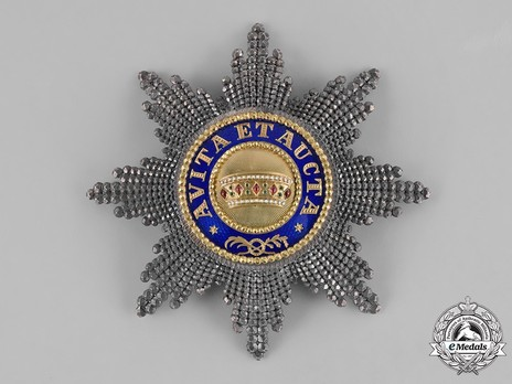 Type III, Civil Division, I Class Breast Star Obverse