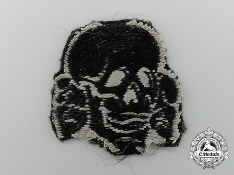 Waffen-SS NCO/EM's Cloth Cap Death's Head Reverse