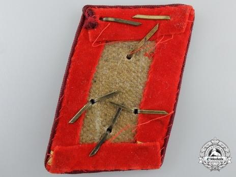 NSDAP Ober-Einsatzleiter Type IV Gau Level Collar Tabs Reverse
