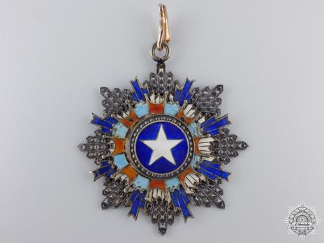 Order of the Brilliant Star, II Class Sash Badge Obverse
