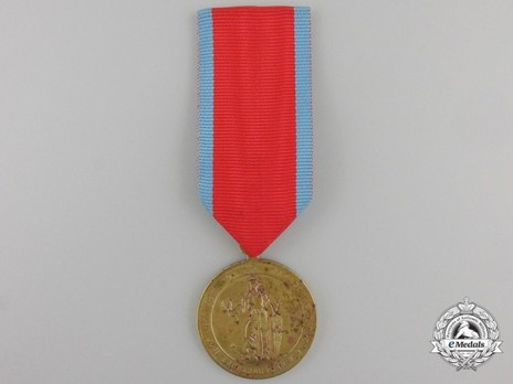 Commemorative Medal for the Serbo-Turkish War 1876-1878, in Gold Obverse