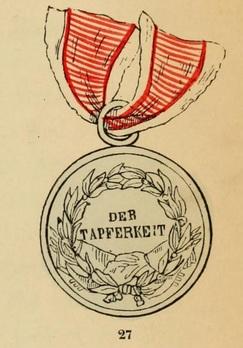 Type I, Gold Medal  Reverse