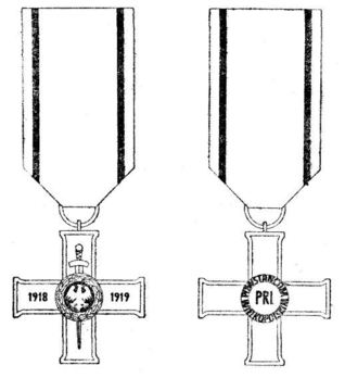 Greater Poland Uprising Cross (1957-1989) Obverse and Reverse