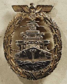 High Seas Fleet Badge with Diamonds Obverse