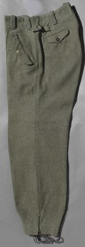 Luftwaffe Early Pattern Paratrooper Trousers Left